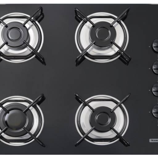 Comprar o produto de Cooktop a Gás da Tramontina em Cozinha pela empresa Copedras Marmoraria em Jundiaí, SP por Solutudo