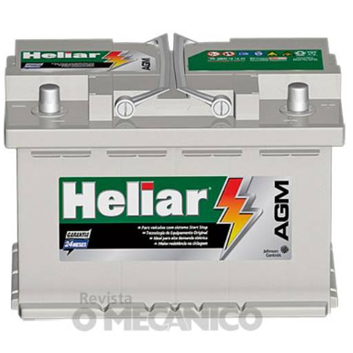 Comprar o produto de Baterias Heliar AGM  em Baterias Automotivas pela empresa Casa das Baterias Iacanga em Americana, SP por Solutudo