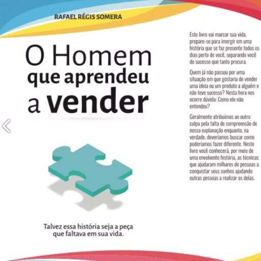 Comprar a oferta de O Homem Que Aprendeu A Vender em Livros pela empresa Rafael Régis Somera - Consultoria & Treinamentos em Botucatu, SP por Solutudo