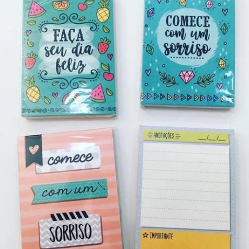 Comprar o produto de Bloquinho de Anotações em Papelarias pela empresa Ateliê Kelly Mendonça em Aracaju, SE por Solutudo