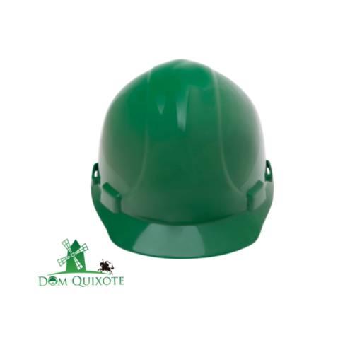 Capacete classe B Verde - c/ jugular em Jundiaí, SP por Dom Quixote Equipamentos de Proteção Individual