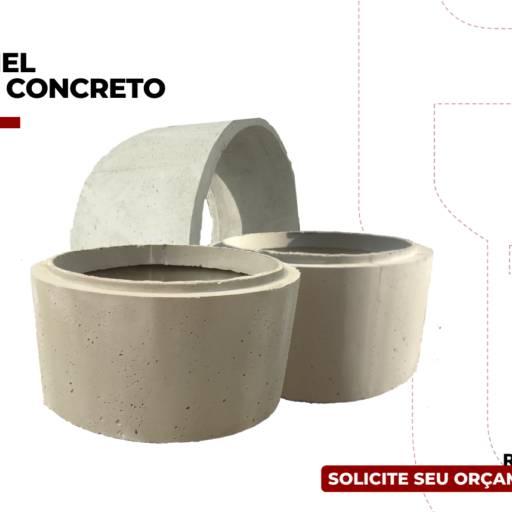 Anel de Concreto em Birigui, SP por Rondon Cochos e Alambrados