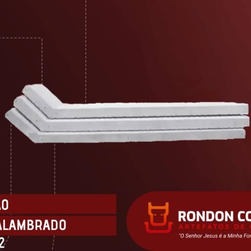 Comprar o produto de Mourão de Concreto para Alambrado em Construção pela empresa Rondon Cochos e Alambrados em Birigui, SP por Solutudo