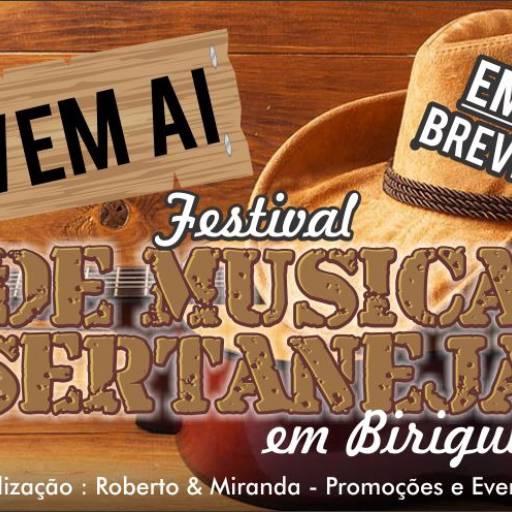 Comprar o produto de Em breve Festival de Música Sertaneja em Negócios pela empresa Roberto & Miranda Publicidade e Produções Artísticas em Birigui, SP por Solutudo