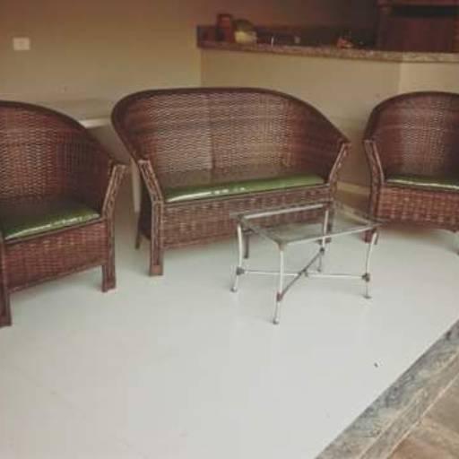 Comprar o produto de Jogo de sofá em Casa, Móveis e Decoração pela empresa Casa do Artesão  em Birigui, SP por Solutudo
