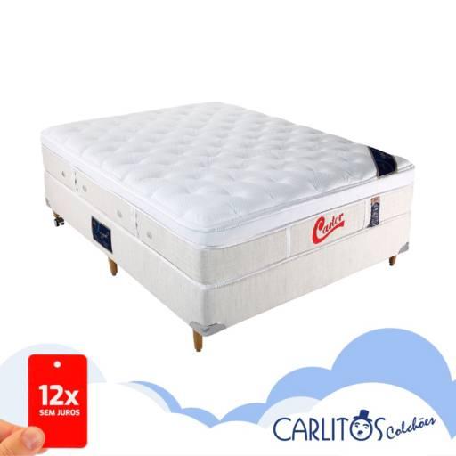 Cama Box Casal por Carlitos Colchões