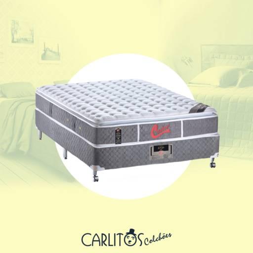Cama box Casal CASTOR por Carlitos Colchões