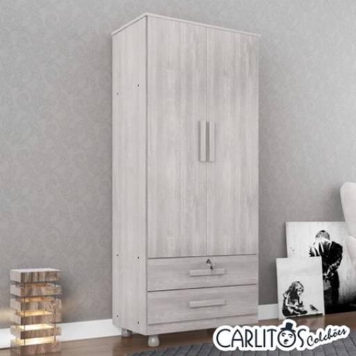 Armarinho de duas portas e duas gavetas por Carlitos Colchões