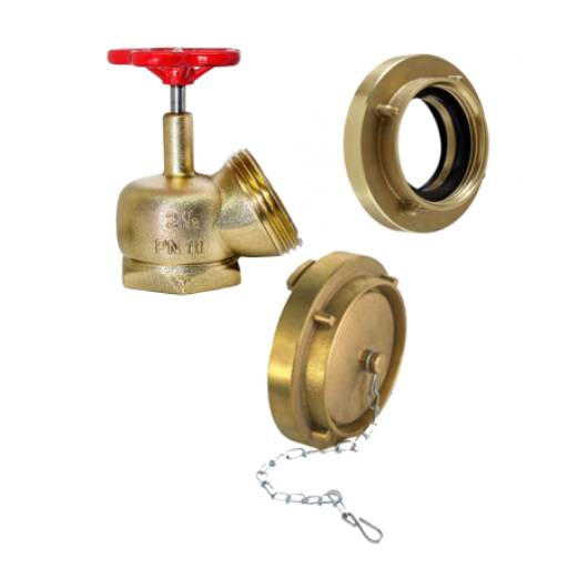 Comprar o produto de Registro Globo - 2 adaptadores - 3 tampão em Outros pela empresa CLP Extintores em Jundiaí, SP por Solutudo