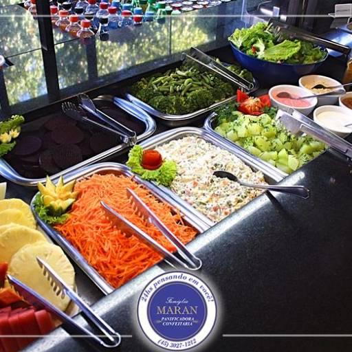 Comprar o produto de Buffet de Almoço em Alimentos pela empresa Famiglia Maran Panificadora, Confeitaria e Restaurante 24h em Foz do Iguaçu, PR por Solutudo