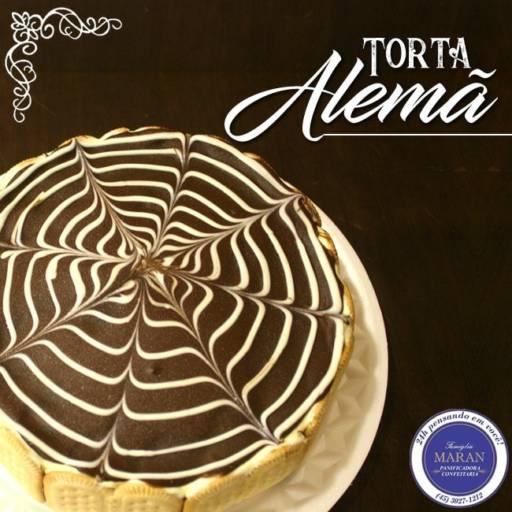 Comprar o produto de Torta Alemã em Tortas pela empresa Famiglia Maran Panificadora, Confeitaria e Restaurante 24h em Foz do Iguaçu, PR por Solutudo