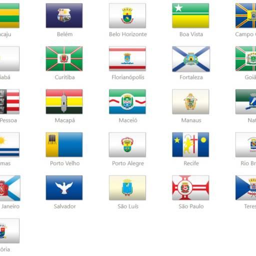 Bandeiras de Capitais por Jairo Jaime Bandeiras e Flâmulas
