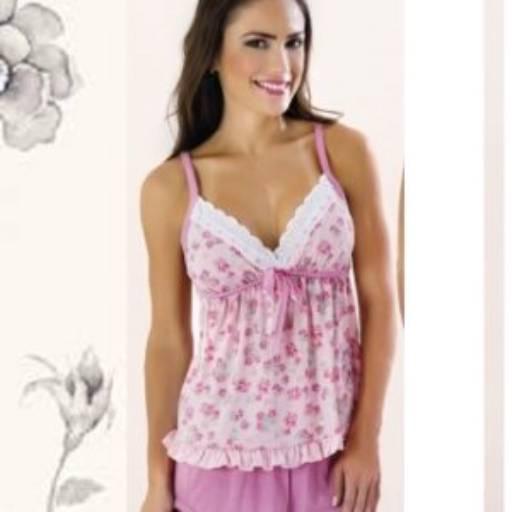 Comprar o produto de BABYDOLL ALÇA COM BORDADO INGLÊS em Moda Íntima e Lingerie pela empresa Corpo de Mulher em Aracaju, SE por Solutudo
