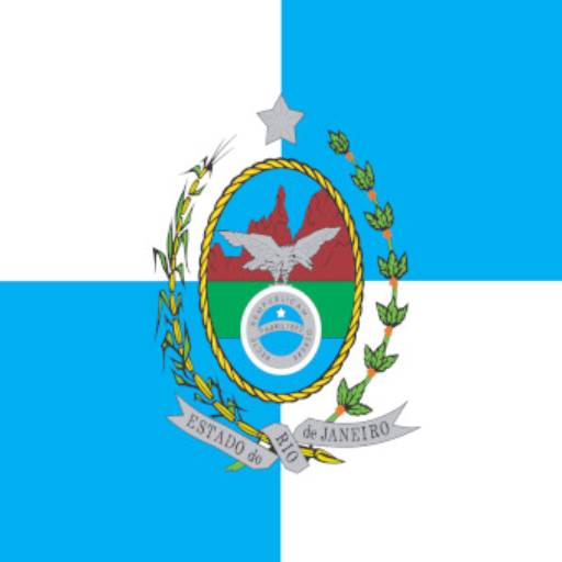 Bandeira do estado do Rio de Janeiro  por Jairo Jaime Bandeiras e Flâmulas