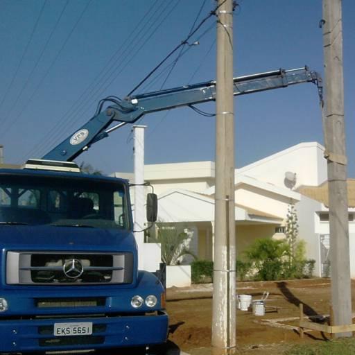 Entrega e Instalação de Postes em Birigui, SP por Postes São Conrado