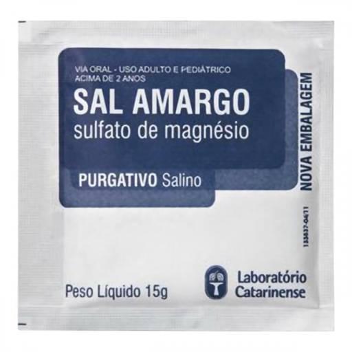 Comprar o produto de Sal Amargo Envelope 15g - Drogaria Catarinense em Alimentação Saudável pela empresa Pronapi Produtos Naturais em Foz do Iguaçu, PR por Solutudo