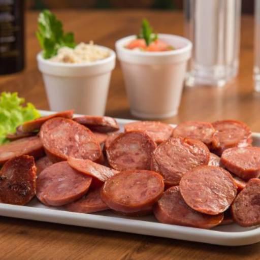 Comprar o produto de Porção de Calabresa em Porções pela empresa Marilza Lanches em Birigui, SP por Solutudo