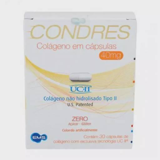 Condres Colágeno Em Cápsulas 40mg C/ 30 Unidades por Farmácia Preço Justo - Av. Paraná