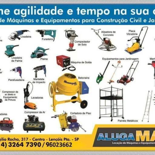 Comprar o produto de Locação de Compressor de Ar Direto e Equipamento de Pintura em Ferragens e Ferramentas pela empresa Alugamaq Locação de Máquinas e Equipamentos em Lençóis Paulista, SP por Solutudo