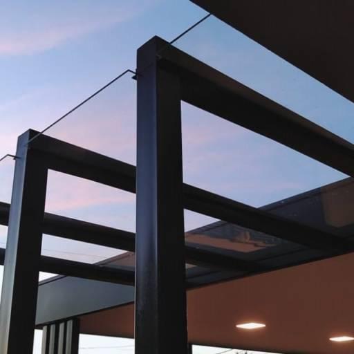 Comprar o produto de Cobertura em vidro em Coberturas pela empresa André Vidros em Tietê, SP por Solutudo