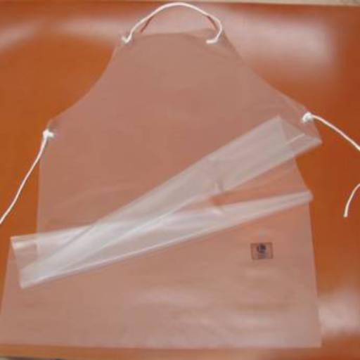 Avental de Vinil Transparente por EPI.COM - Equipamentos de Segurança do Trabalho
