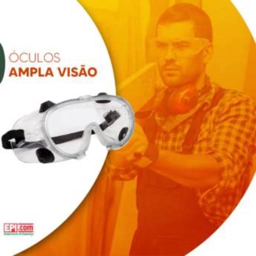 Óculos Ampla Visão por EPI.COM - Equipamentos de Segurança do Trabalho