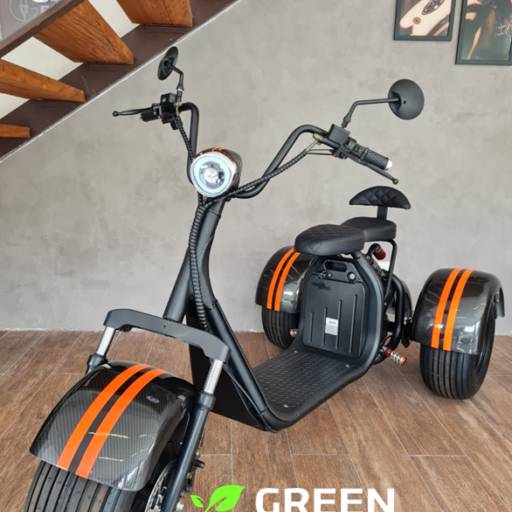Moto Elétrica Triciclo - Gloov por Green Energy Motos elétricas Jundiaí