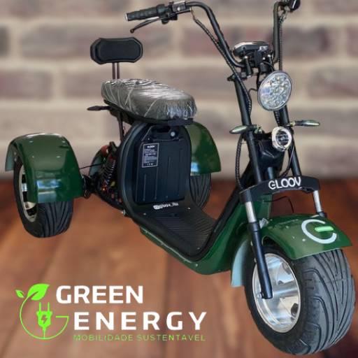 Moto Elétrica P6R III (Triciclo) - Gloov por Green Energy Motos elétricas Jundiaí