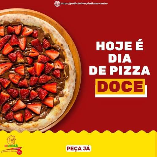 Pizza Doce por É Di Casa Pizzaria