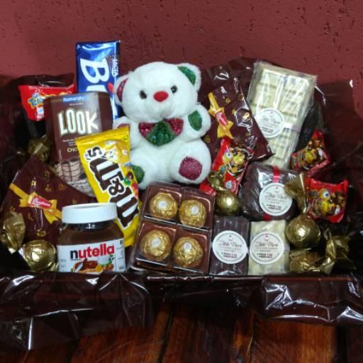 Cesta Personalizada por Zilda'S Chocolate Artesanal
