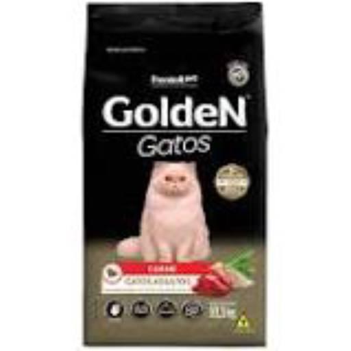 Ração Golden Gatos Carne por Agrocamp Produtos Agropecuários
