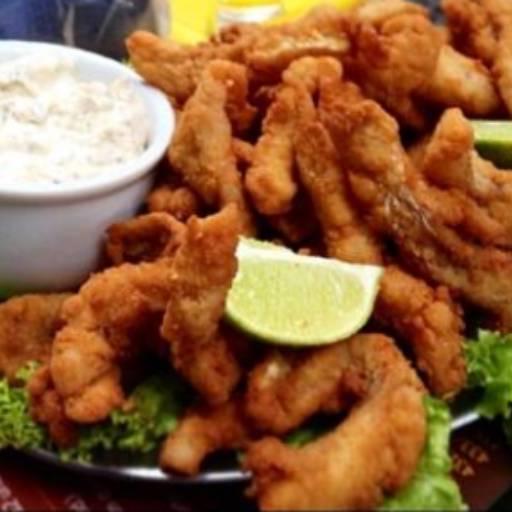 Porção de Peixe por MAC Fritas