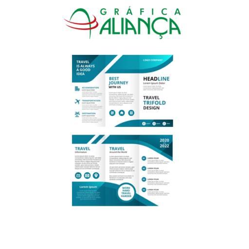 Folhetos Personalizados  por Gráfica Aliança