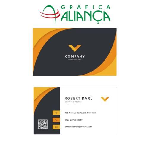 Cartão de Visita Personalizado  por Gráfica Aliança
