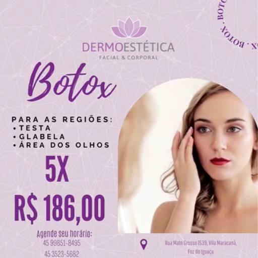Botox  por Dermoestética Facial e Corporal
