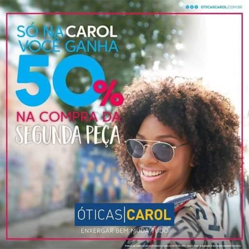 Promoção por Óticas Carol