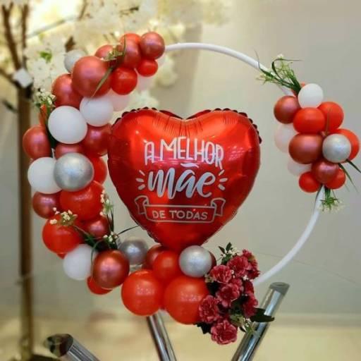 Arco de Balões Personalizados por Bigtok