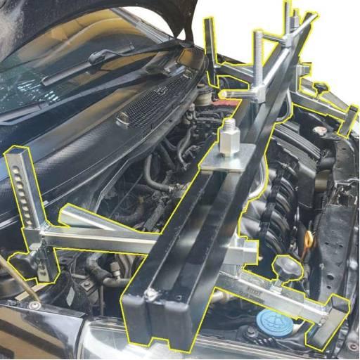 Suporte para motor múltipla função por Fazzio Equipamentos Automotivos
