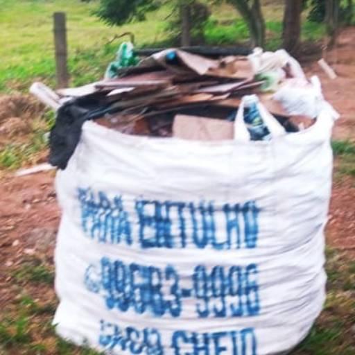 Aluguel de Big Bag para entulho em Botucatu, SP por Sacaria SacoCheio