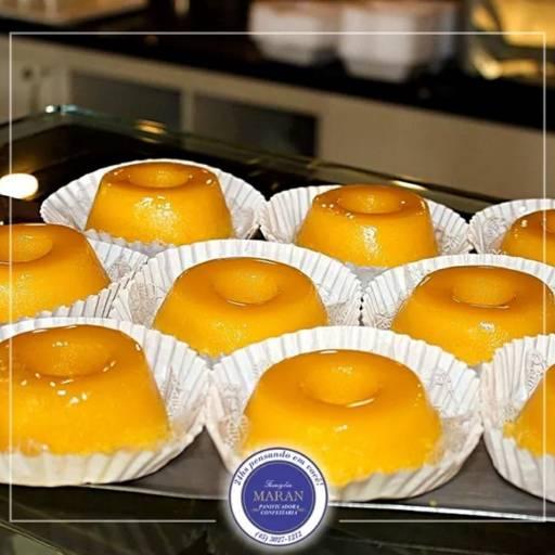 Comprar o produto de Quindim unidade em Panificadoras pela empresa Famiglia Maran Panificadora, Confeitaria e Restaurante 24h em Foz do Iguaçu, PR por Solutudo