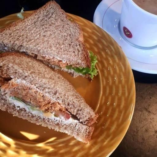 Sanduíche de Frango com Pão Multigrãos por Pró Fit e ProSaúde Produtos Naturais, Orgânicos e Alimentos Funcionais