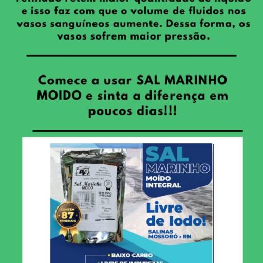 Sal Marinho Moído Integral por V&E Distribuidora de Sal