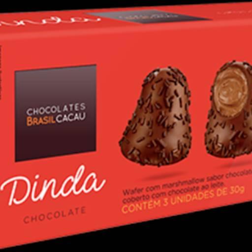 Comprar o produto de Dinda Brigadeiro 90g em Sobremesas pela empresa Chocolates Brasil Cacau Botucatu em Botucatu, SP por Solutudo