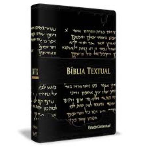 Bíblia Textual - Luxo Preta Estudo contextual em Jundiaí, SP por Kemuel - livraria cristã