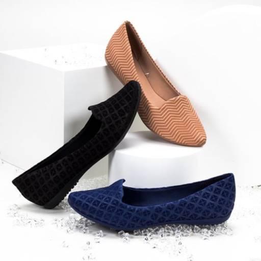 Comprar o produto de Sapatilhas e rasteiras em Feminino pela empresa Lojas Conceito Confecções e Calçados - Vestindo e Calçando Toda a Família em Atibaia, SP por Solutudo