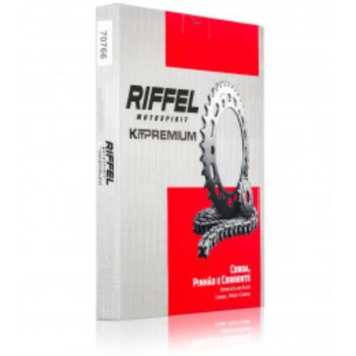 Comprar o produto de Relação Riffel Premium CG150 em Pinhões pela empresa Couto Motos Racing em Botucatu, SP por Solutudo