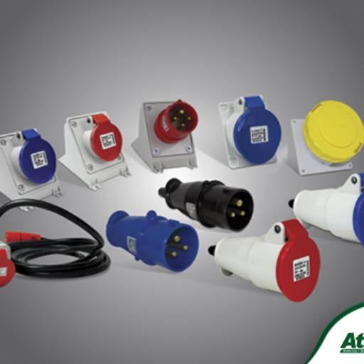 Comprar o produto de Plugues e Tomadas Industriais Steck em Proteção pela empresa Atilux Materiais Elétricos e Iluminação em Atibaia, SP por Solutudo