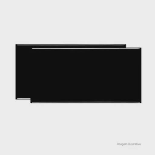 Comprar o produto de REVESTIMENTO 10X20 METRO BLACK BRILHANTE em Piso Cerâmico pela empresa Maxcon Casa e Construção em Atibaia, SP por Solutudo