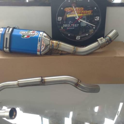 Comprar o produto de Escapamento Viola Racing Azul CRF 250F  em Escapamentos pela empresa Couto Motos Racing em Botucatu, SP por Solutudo
