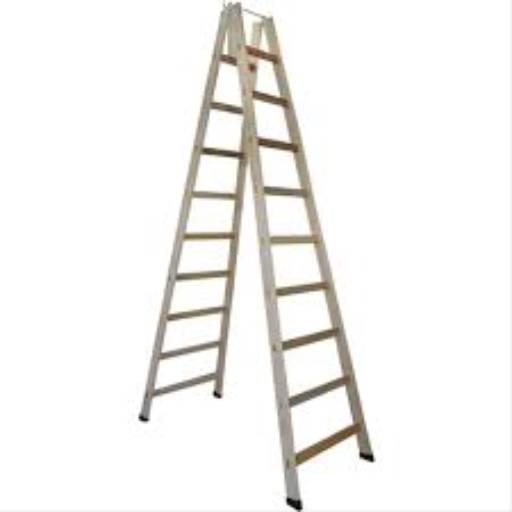Escada de madeira pintor por Casa dos Parafusos - Saudades